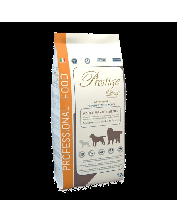 Prestige Dog Adult All Breeds Monoproteico Agnello e Patate 12Kg