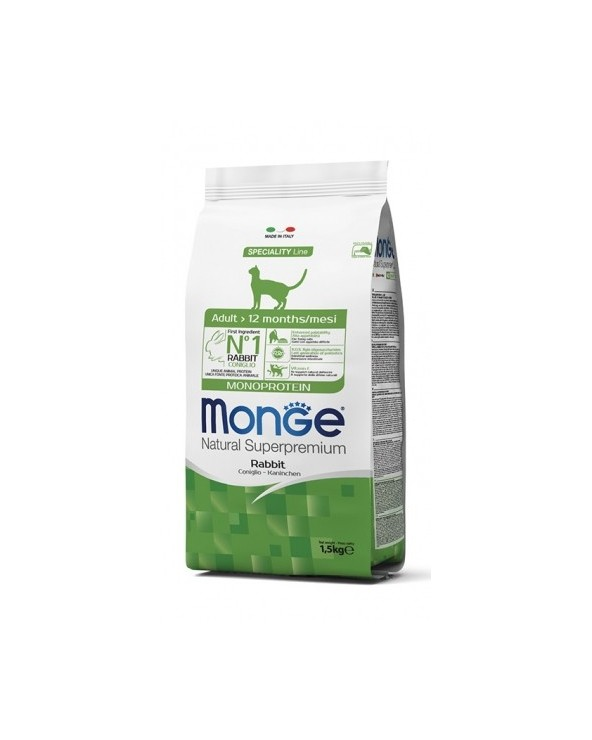 Monge Cat Adult Monoproteico Coniglio 1,5kg