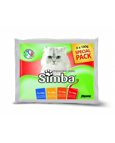 Simba Multipack Buste 4x100g
