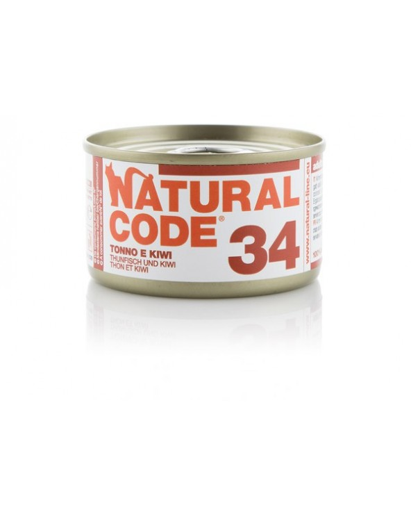 Natural Code Cat Adult 34 Tonno e Kiwi 85 g