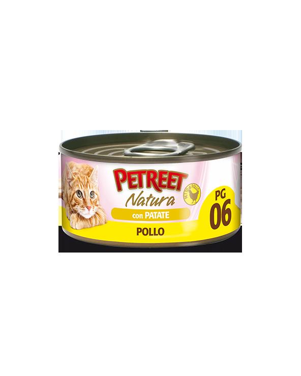 Petreet Natura Pollo in Gelatina con Patate 70 gr PG6