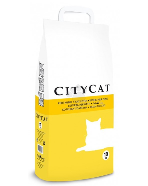 City Cat Lettiera Assorbente in Sepiolite 10 kg