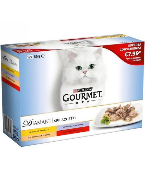 Gourmet Diamant Multipack 12 x 85 g