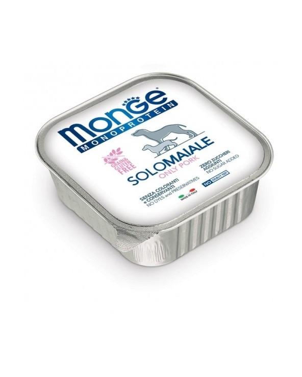 Monge Dog Patè Monoproteico SOLO Maiale 150 g