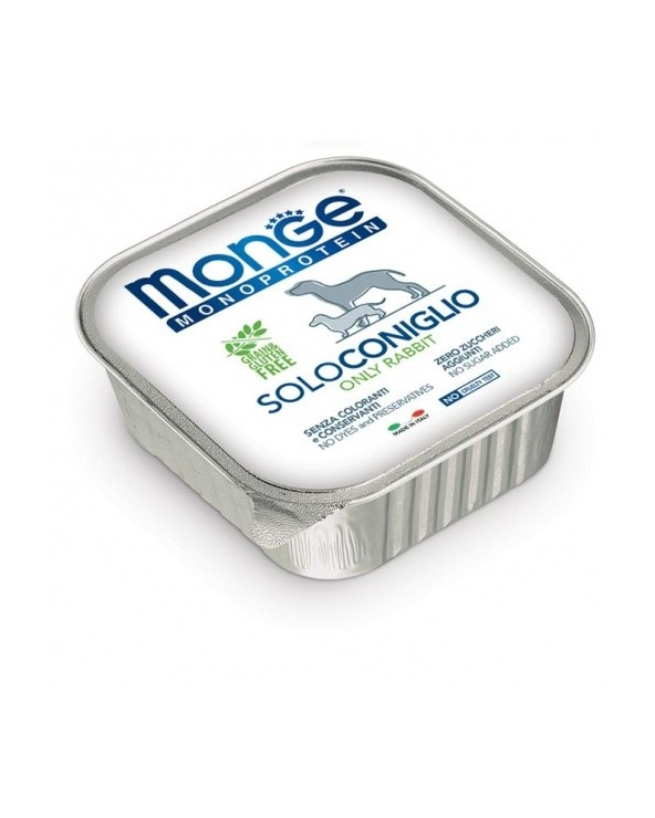 Monge Dog Patè Monoproteico SOLO Coniglio 150 g