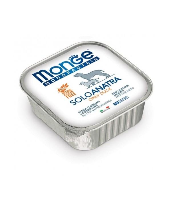 Monge Dog Patè Monoproteico SOLO Anatra 150 g