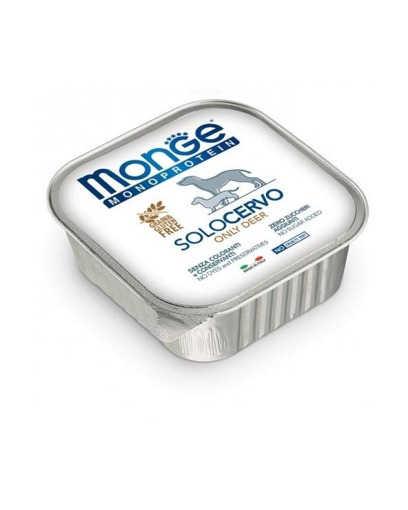 Monge Dog Patè Monoproteico SOLO Cervo 150 g