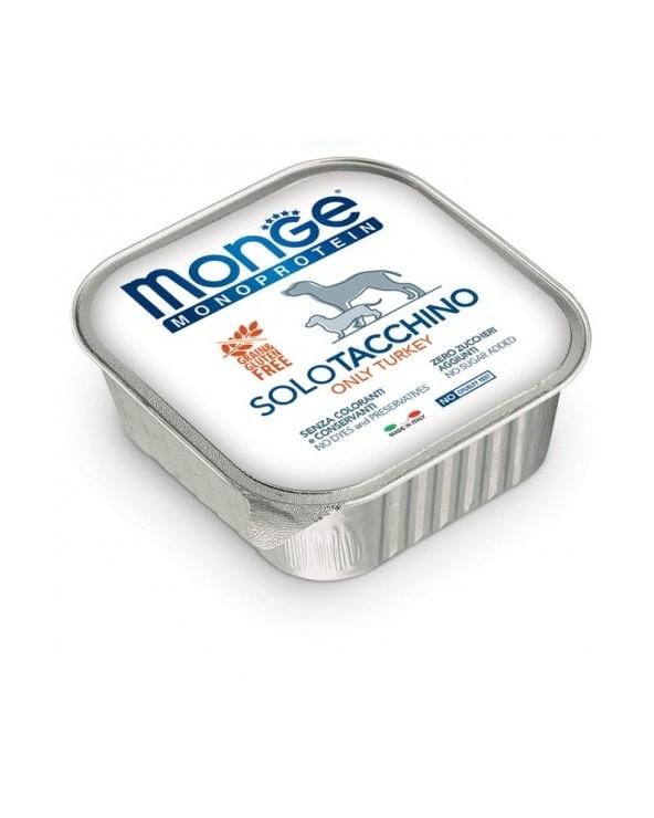 Monge Dog Patè Monoproteico SOLO Tacchino 150 g