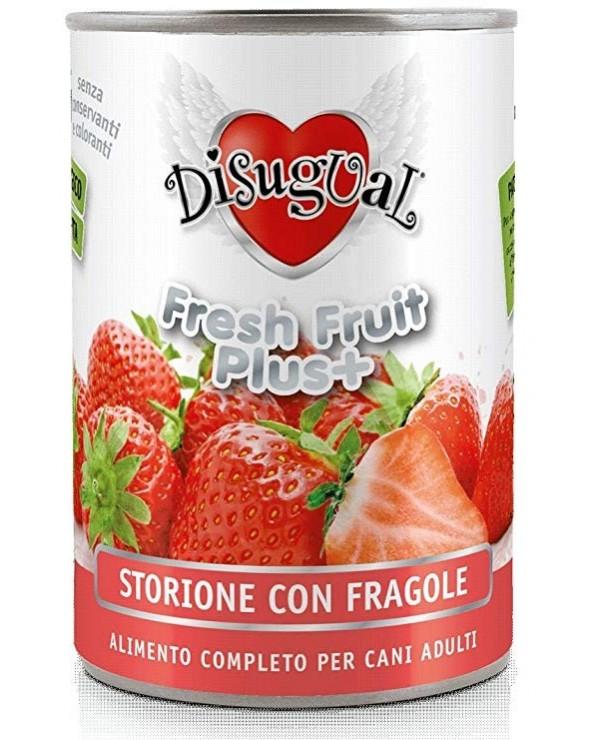 Disugual Fresh Fruit Plus Patè Monoproteico Storione con Fragola 400 g
