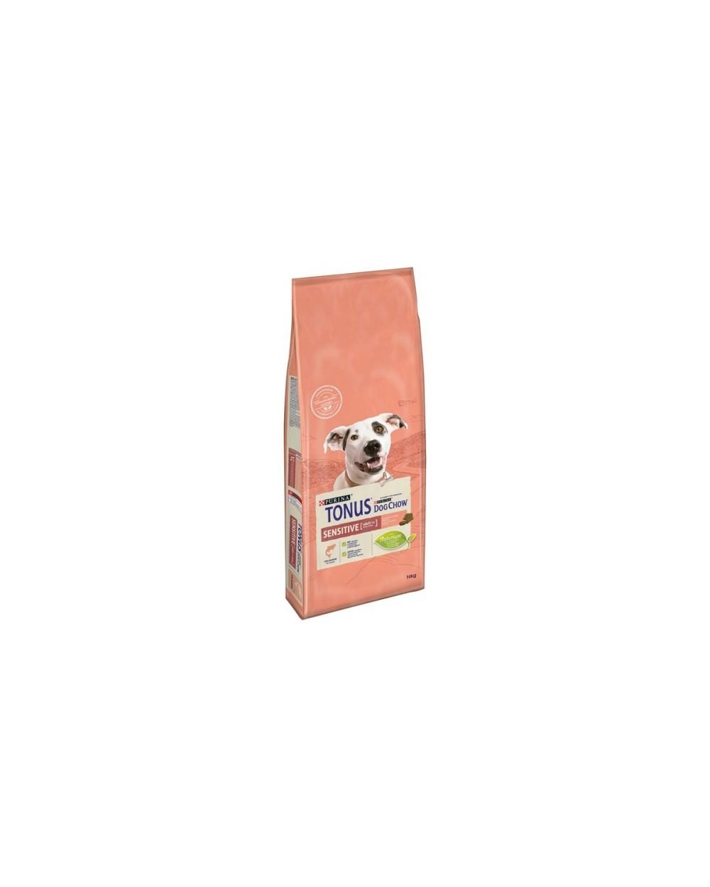 Tonus Dog Chow Adult Sensitive Salmone 14kg
