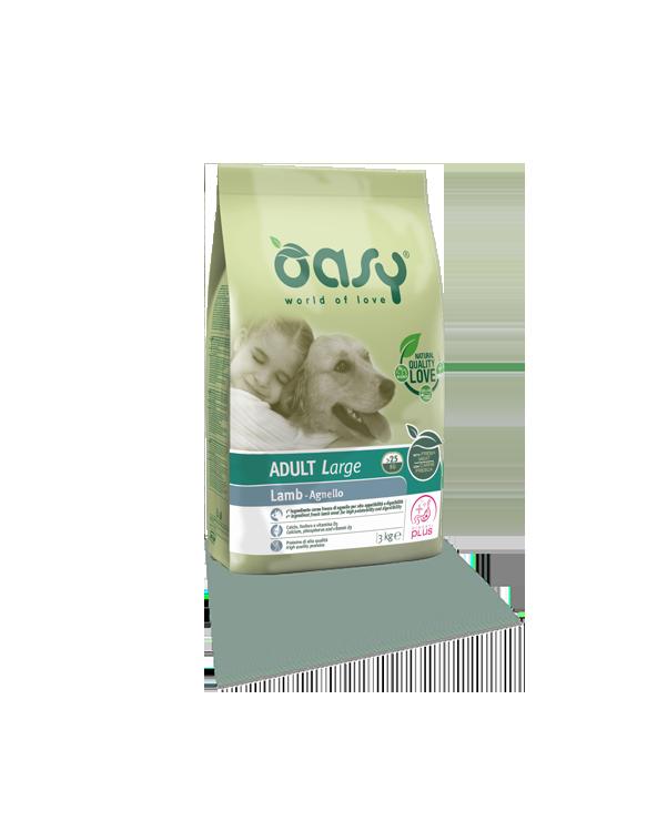Oasy Dog Adult Large con Agnello 3 kg
