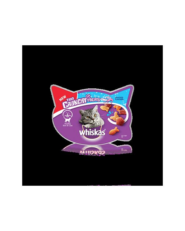 Whiskas Trio Crunchy Treats Pesce Oceanico 55 g