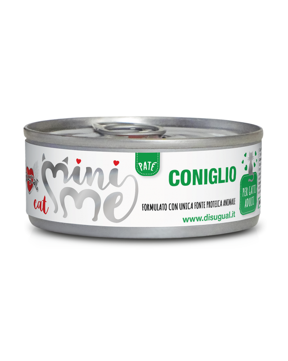 Disugual Cat Mini Me Patè Monoproteico Coniglio 85 g