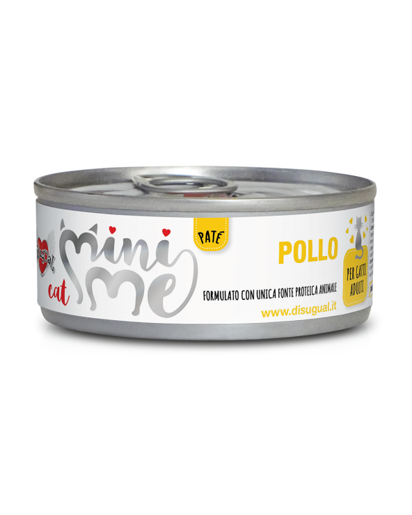 Disugual Cat Mini Me Patè Monoproteico Pollo 85 g