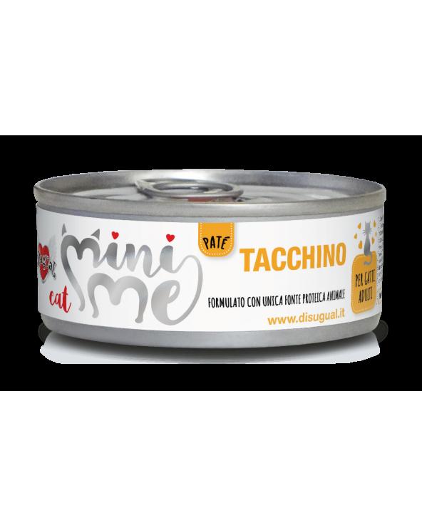 Disugual Cat Mini Me Patè Monoproteico Tacchino 85 g