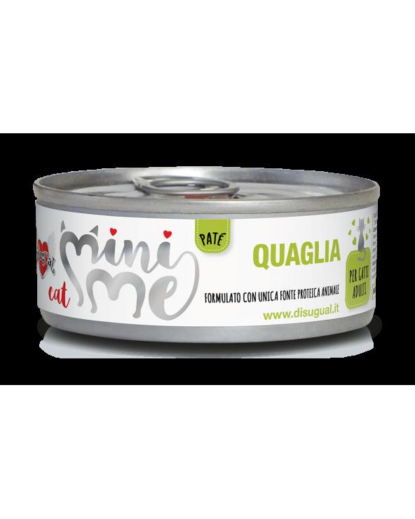 Disugual Cat Mini Me Patè Monoproteico Quaglia 85 g
