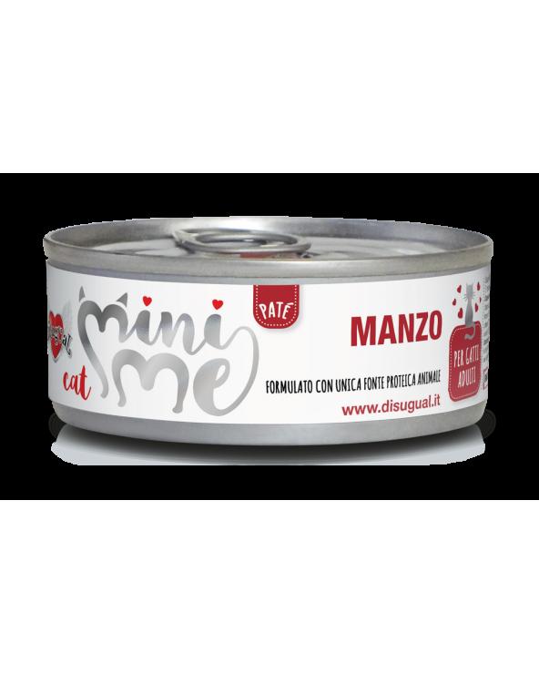 Disugual Cat Mini Me Patè Monoproteico Manzo 85 g