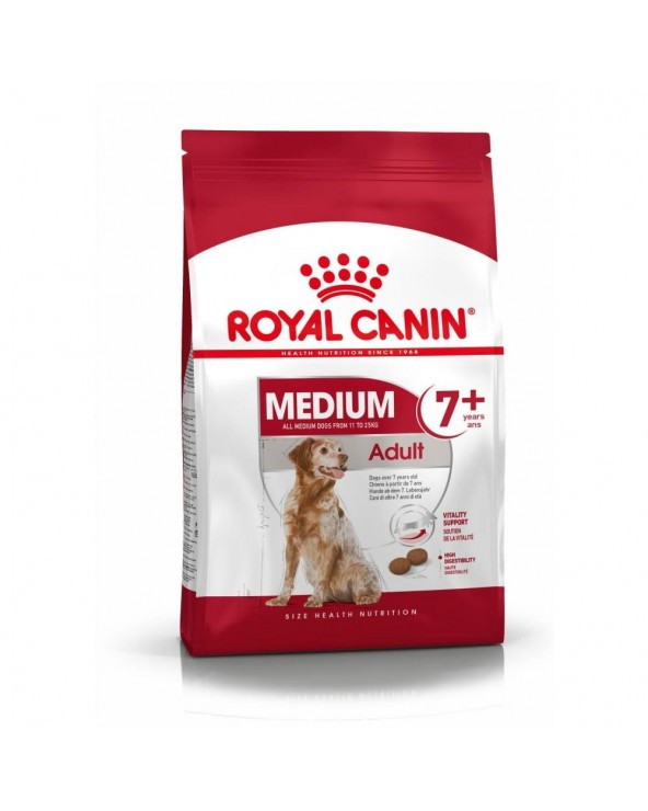 Royal Canin Canine Size Health Nutrition Medium Mature Adult 7+ 15 kg