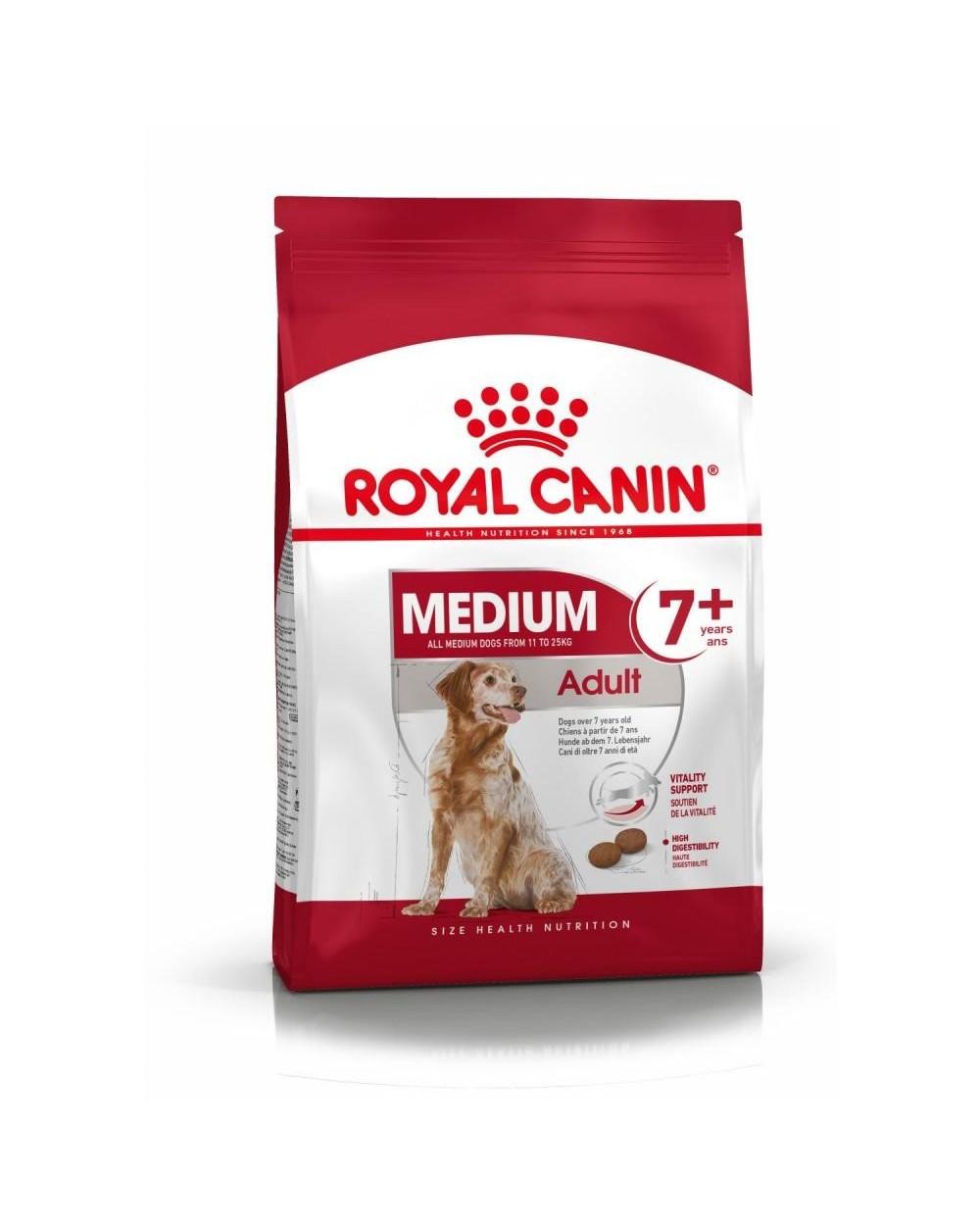 Royal Canin Size Health Nutrition Medium Adult 7+ 15 kg
