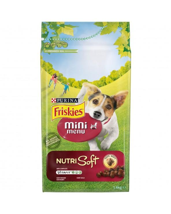 Friskies Nutrisoft Adult Mini con Manzo 1,5 kg