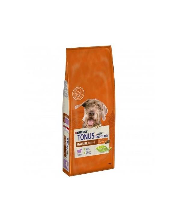 Tonus Dog Chow Mature Adult 5+ Agnello 14 kg