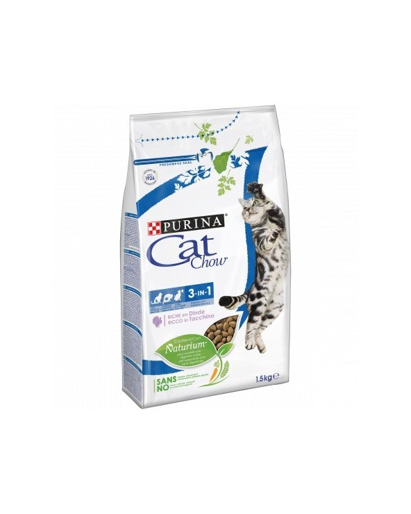 Cat Chow - Adult 3 in 1 con Tacchino