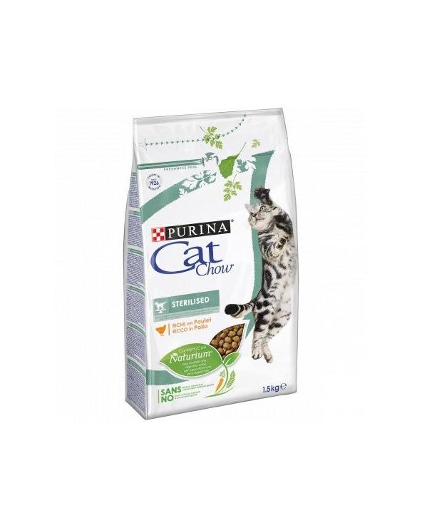 Cat Chow Adult Sterilised Ricco in Pollo 400gr
