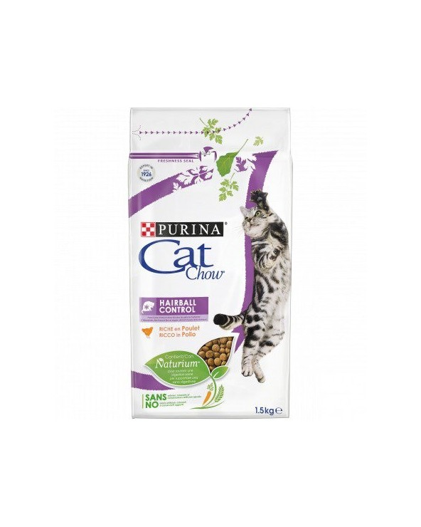 Cat Chow - Adult Hairball Control con Pollo 400g
