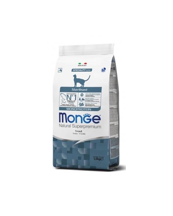 Monge Cat Sterilised Monoproteico Trota 400 g
