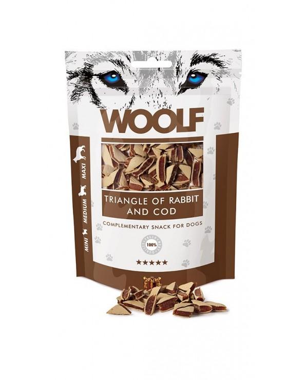 Woolf Snack Triangolini Di Coniglio E Merluzzo 100 g