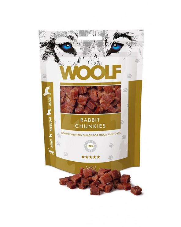 Woolf Snack Bocconcini Di Coniglio 100 g
