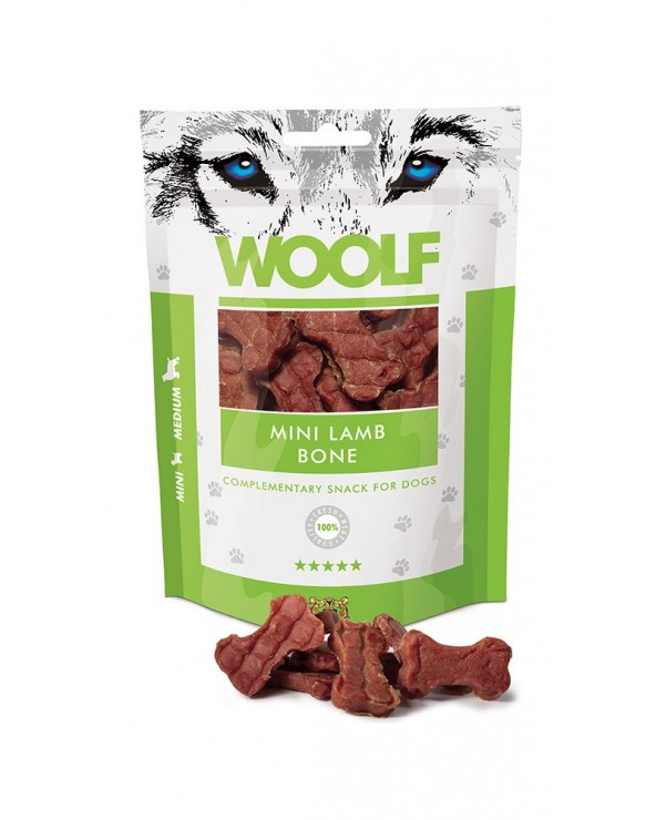 Woolf Snack Piccoli Ossi Di Agnello 100 g
