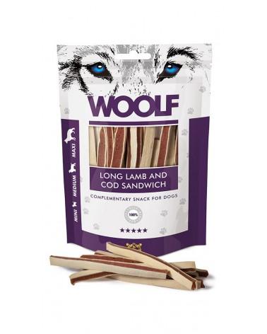 Woolf Snack Strisce Di Agnello E Merluzzo 100 g