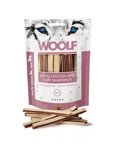 Woolf Snack Strisce Di Pollo E Merluzzo