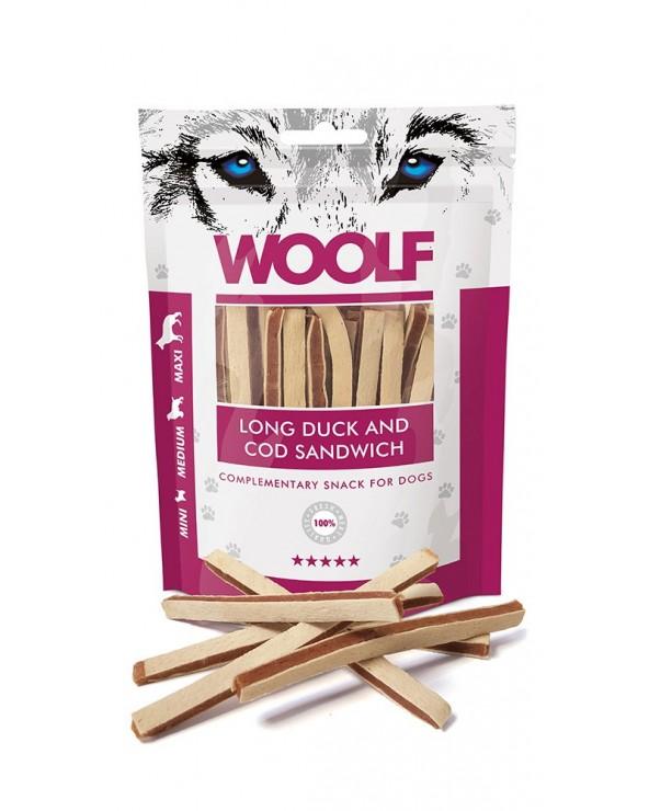 Woolf Snack Strisce Di Anatra E Merluzzo 100 g