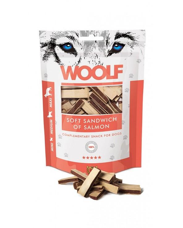 Woolf Snack Sandwich Morbido Di Salmone 100 g