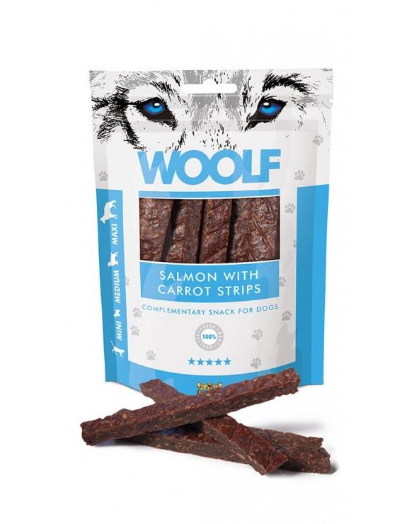 Woolf Snack Strisce Di Salmone E Carote 100 g