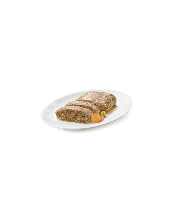 True Instinct Dog NO GRAIN Adult Medium/Maxi Pollo Carote e Piselli Busta in Patè 300 g