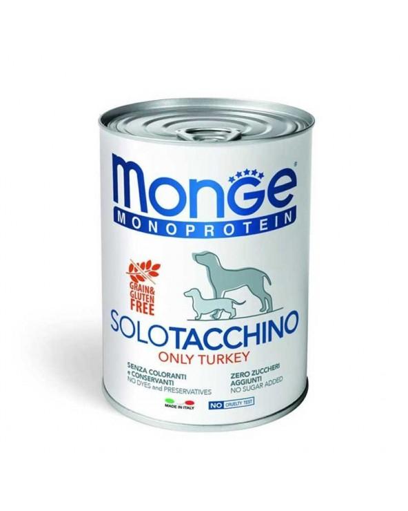 Monge Dog Patè Monoproteico SOLO Coniglio Lattina 400 g