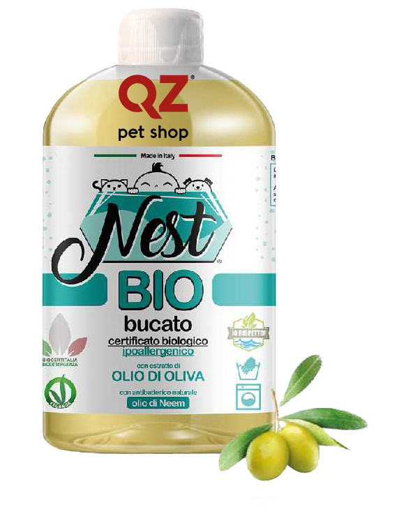 Nest BIO Detersivo per Bucato all' Olio di Oliva 500 ml