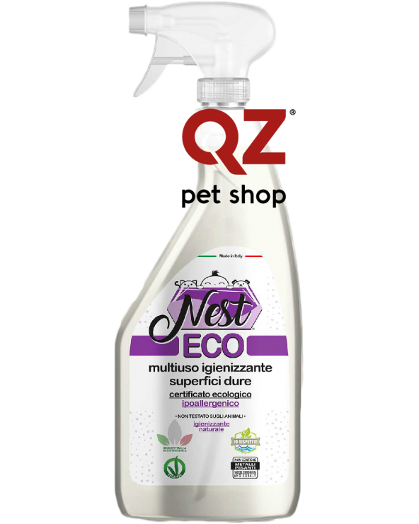 Nest ECO Detergente Igienizzante Multiuso per Superfici Dure 500 ml