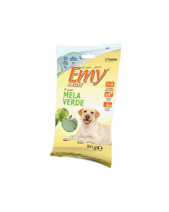 Emy Fruit Biscotti Meline Croccanti al gusto di Mela Verde 90 gr