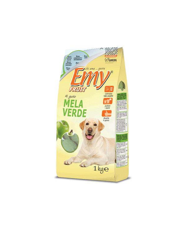 Emy Fruit Biscotti Meline Croccanti al gusto di Mela Verde 1 kg