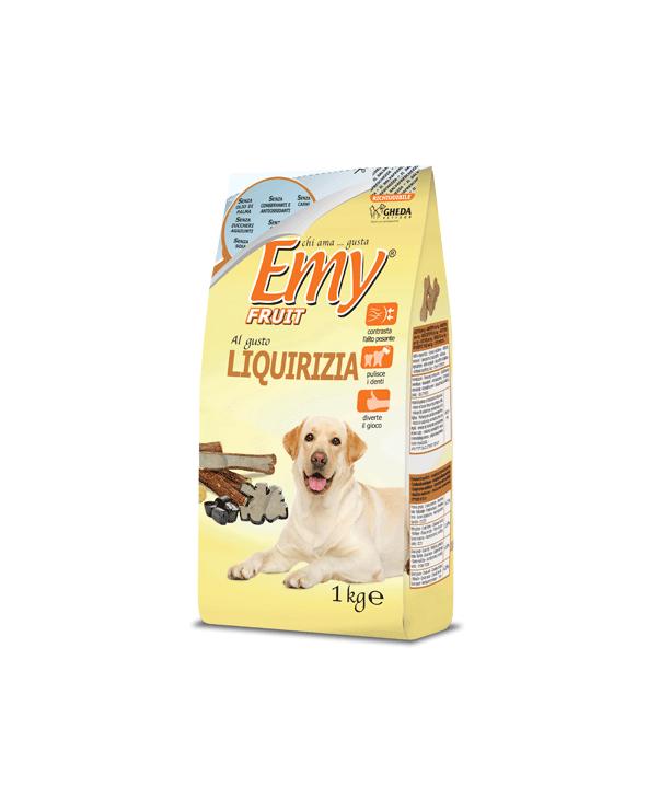 Emy Fruit Biscotti Ossicini Croccanti al gusto di Liquirizia 1 kg