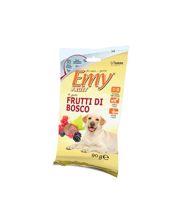 Emy Fruit Biscotti Fragoline Croccanti al gusto di Frutti di Bosco 90 gr