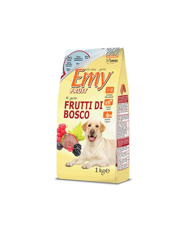 Emy Fruit Biscotti Fragoline Croccanti al gusto di Frutti di Bosco 1 kg