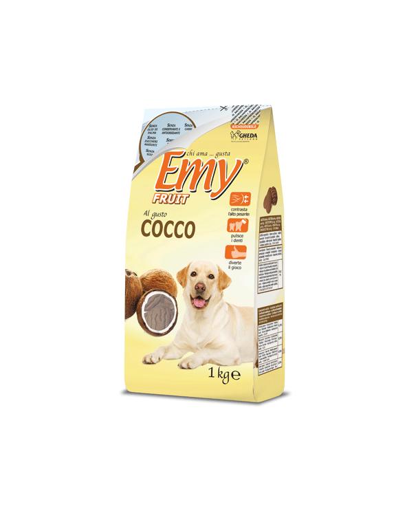Emy Fruit Biscotti Noci Croccanti al gusto di Cocco 1 kg