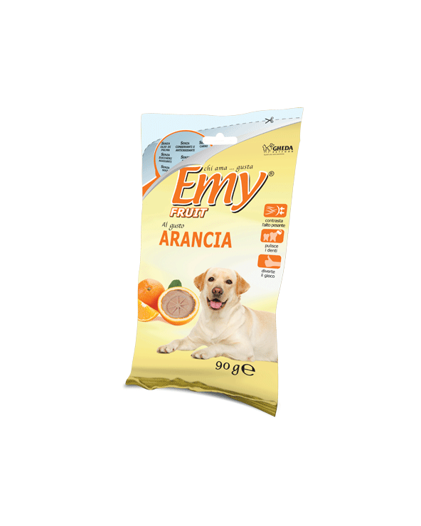 Emy Fruit Biscotti Fettine Croccanti al gusto di Arancia 90 gr