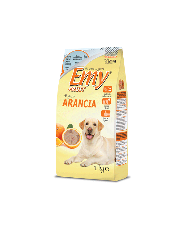 Emy Fruit Biscotti Fettine Croccanti al gusto di Arancia 1 kg