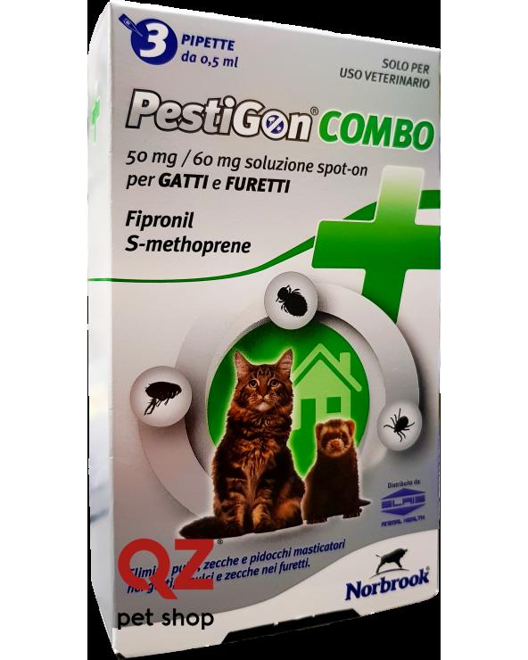 Pestigon Combo per Gatti Fiale da 0.5 ml